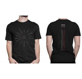 Camiseta negra Canciones de la Gira