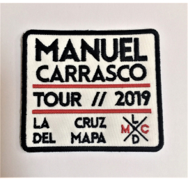 "Parche blanco ""Manuel Carrasco on Tour 2019"""
