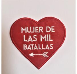 """Parque rojo """"Mujer de las mil batallas"""""""