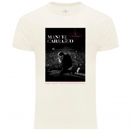 Camiseta cruda EDICIÓN ESPECIAL 5 Ciudades 2021
