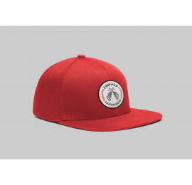 """Gorra roja """"Dispara Lentamente"""""""